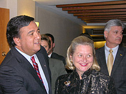 Bill Richardson and the First Lady